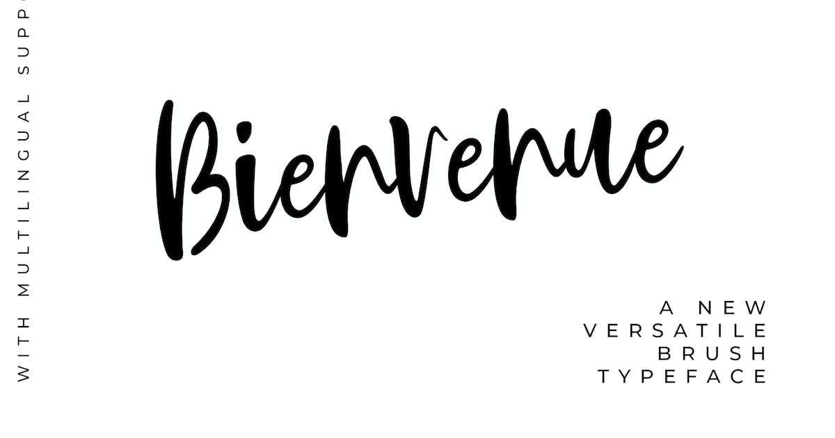 Download Bienvenue Handwritten Font by Siwox
