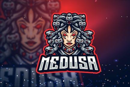 Medusa Esport Logo - Gudtemp
