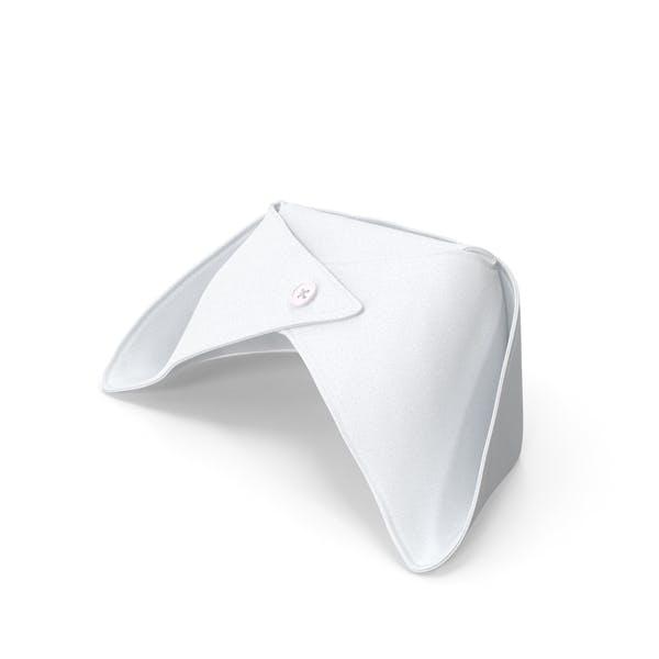 Old Fashioned Krankenschwester Hut Weiß