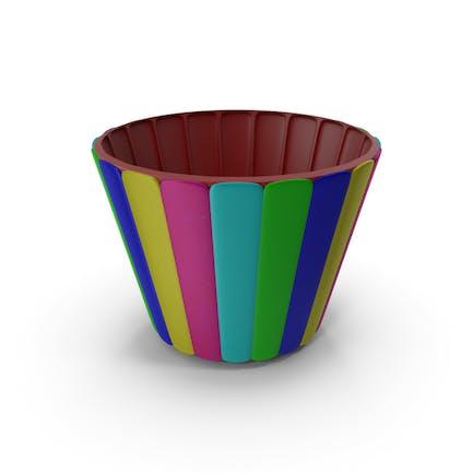 Multi Plastic Bowl Cup Pot Vase