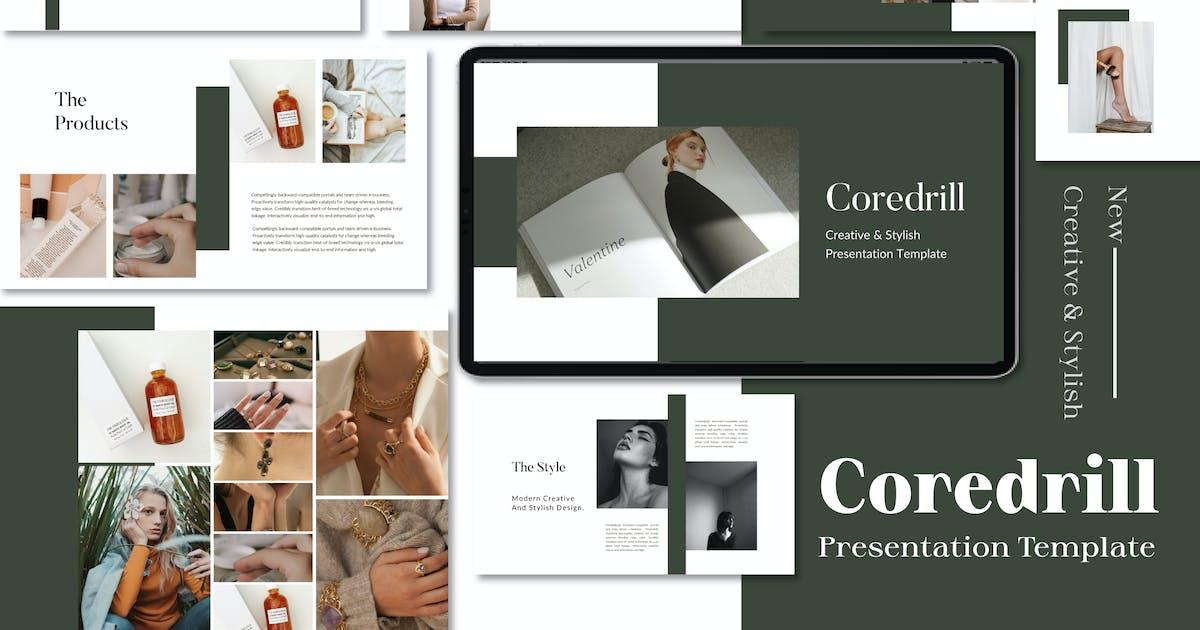 Download Coredrill Creative & Minimal Keynote by Fourtyonestd