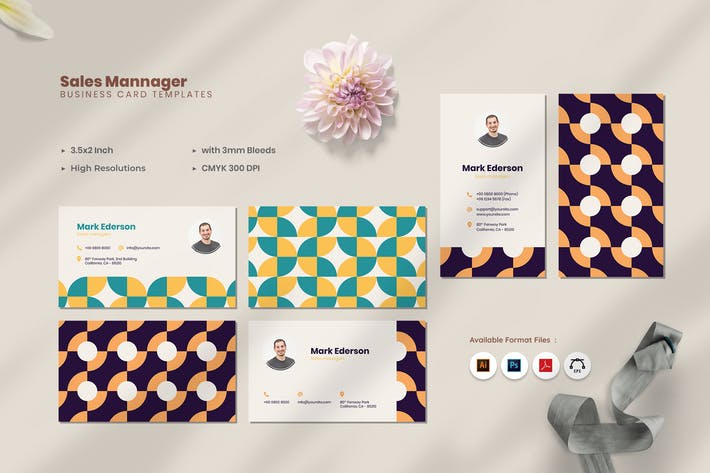 Sales Business Card