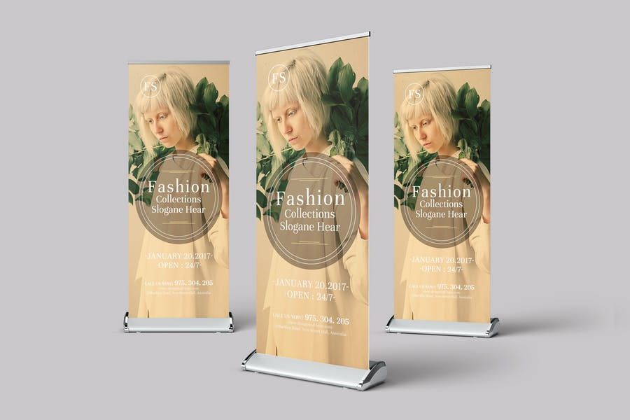 Fashion Multipurpose Rollup Banner