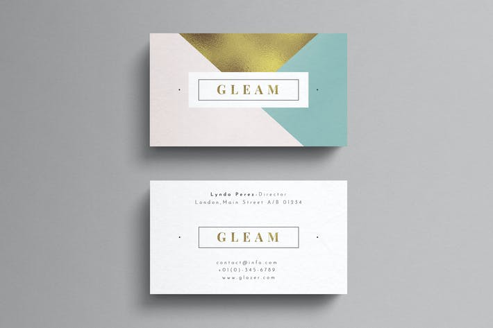 Thumbnail for Elegant Business Card Template