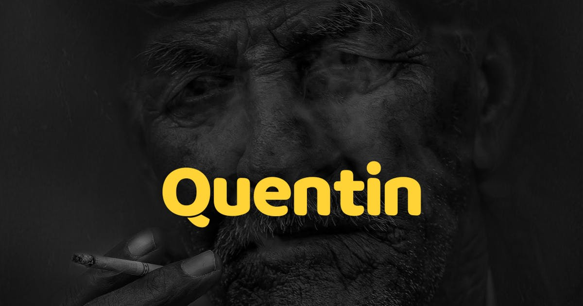Download Quentin Pro Typeface + Webfonts by webhance