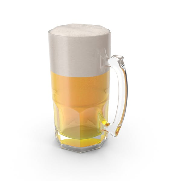Thumbnail for Full Beer Mug