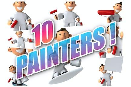 10 fun Painters !