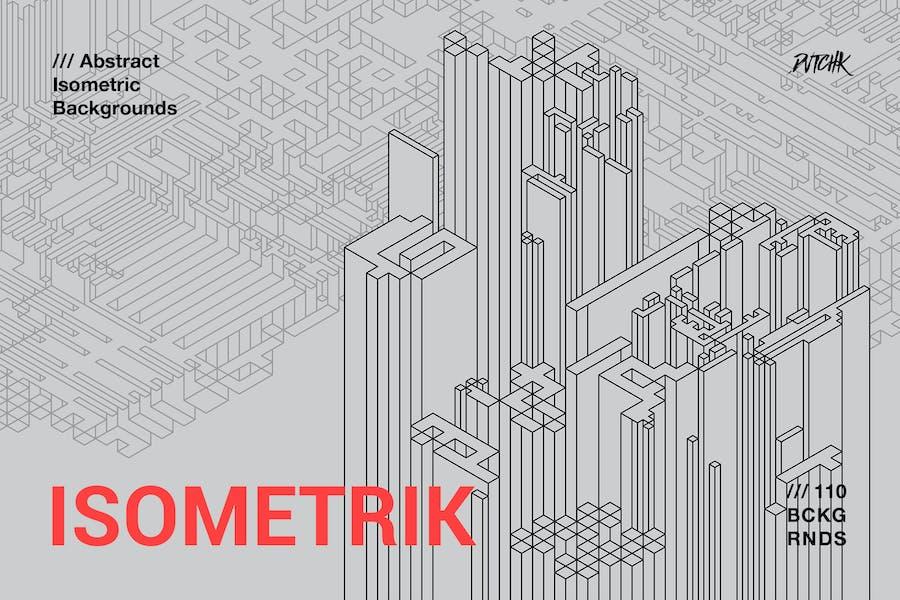 Isometrik | Abstract Isometric Backgrounds