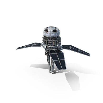 Sci-fi Orbital Cannon Satellite