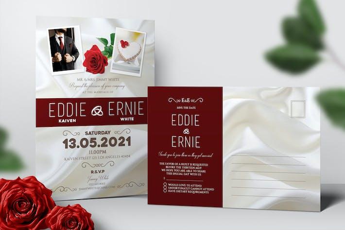 Thumbnail for Invitation de mariage et RSVP