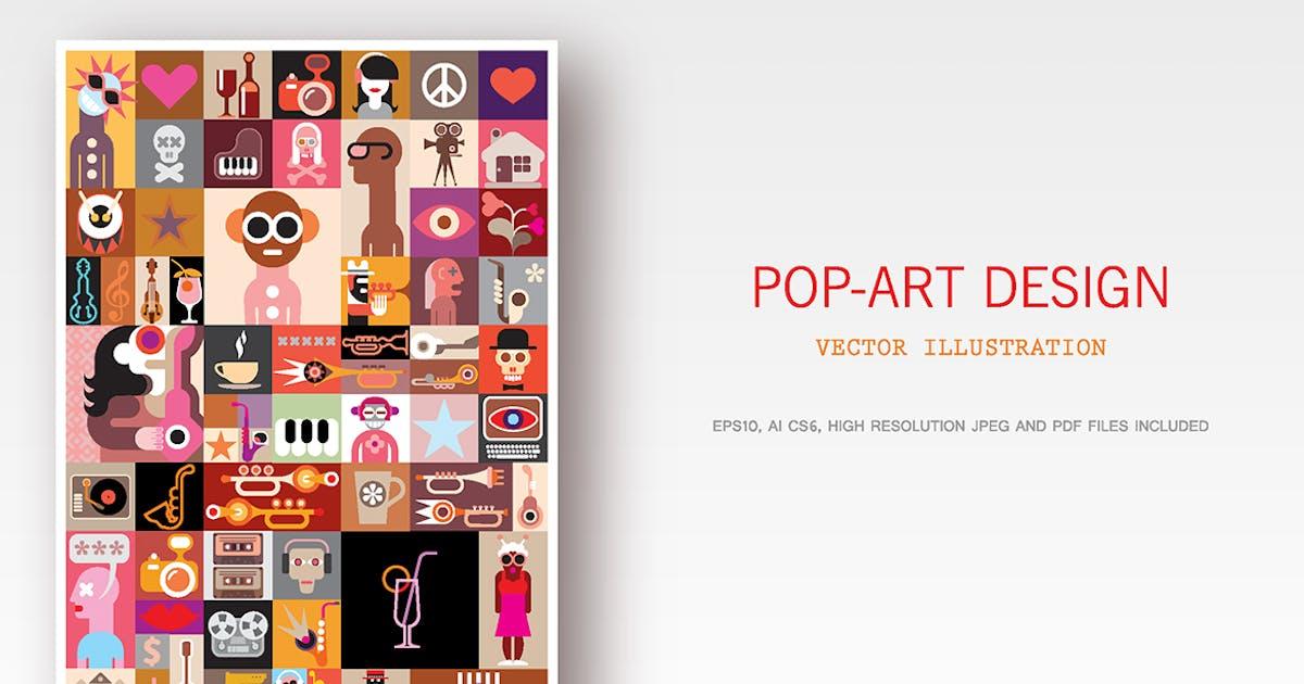 Download Pop-Art Design vector illustration by danjazzia