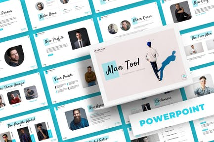 Man Tool - Powerpoint Template