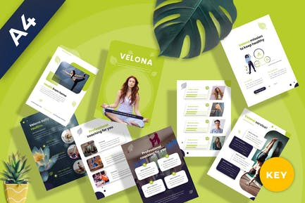 Velona - Yoga Coaching Keynote Template