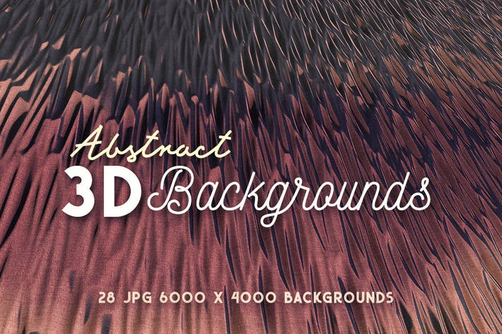 Thumbnail for 28 Abstract 3D Backgrounds