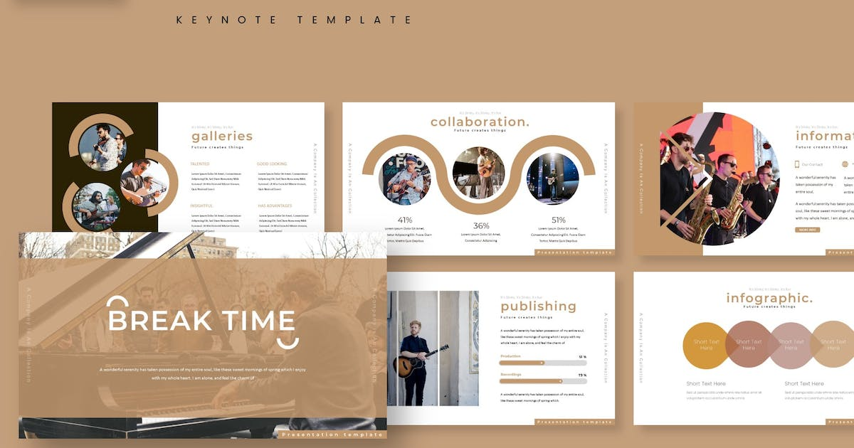 Download The Musica - Keynote Template by aqrstudio