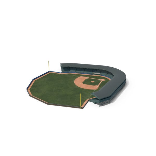 Thumbnail for Baseball Field with Grandstand with Padded Wall