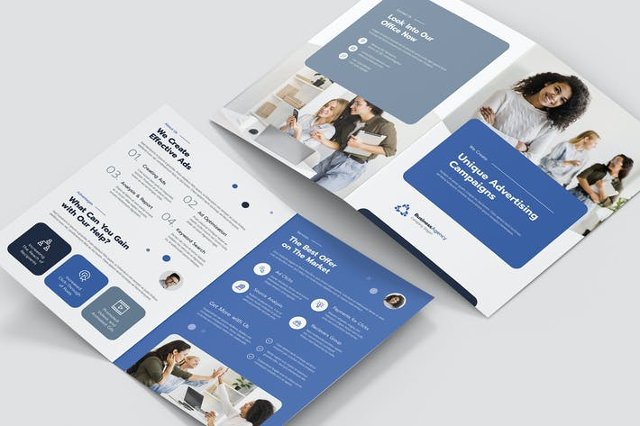 Thumbnail for Brochure – Business Agency Bi-Fold