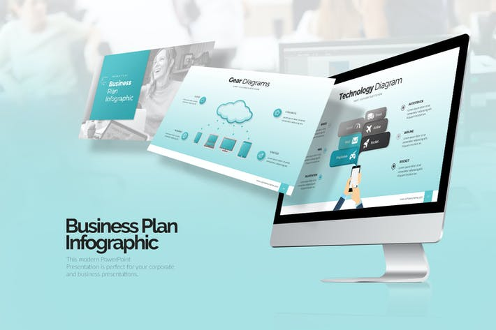 Thumbnail for Business Plan Infographic Google Slides