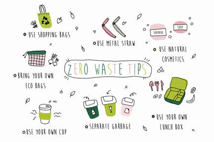 Zero Waste Doodles