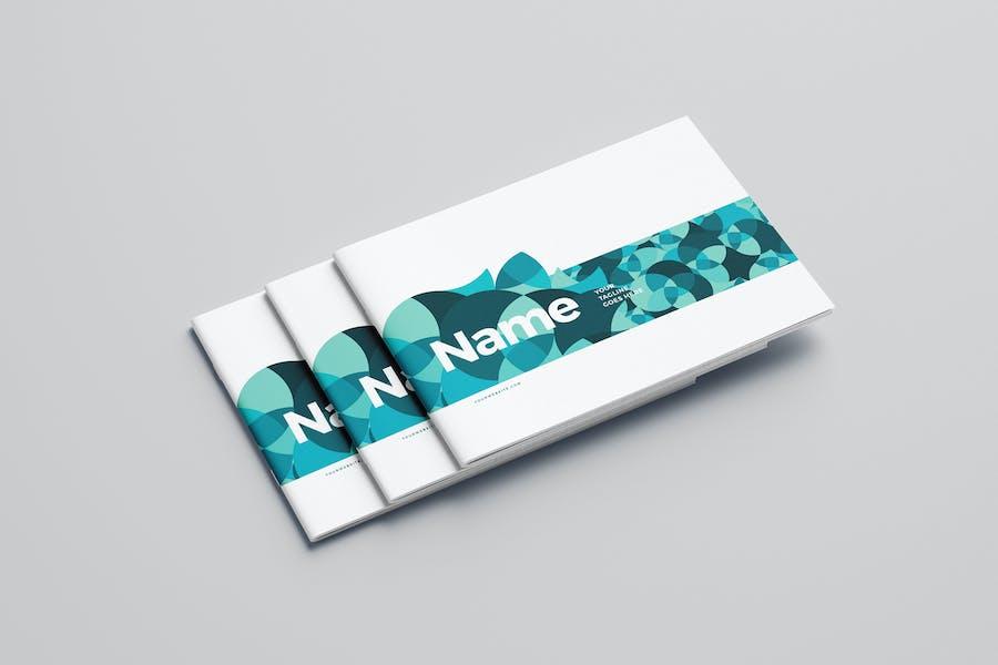 Modern Blue Architecture Brochure