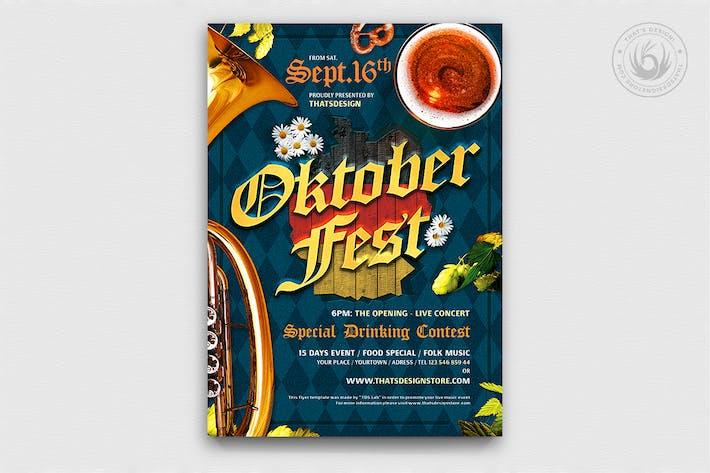 Thumbnail for Oktoberfest Flyer Template V10