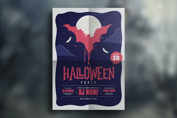 Thumbnail for Halloween Event Flyer