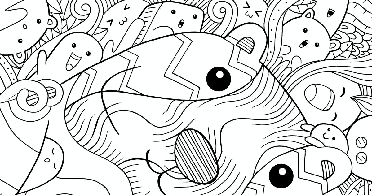 Download Beaver Doodle by medzcreative