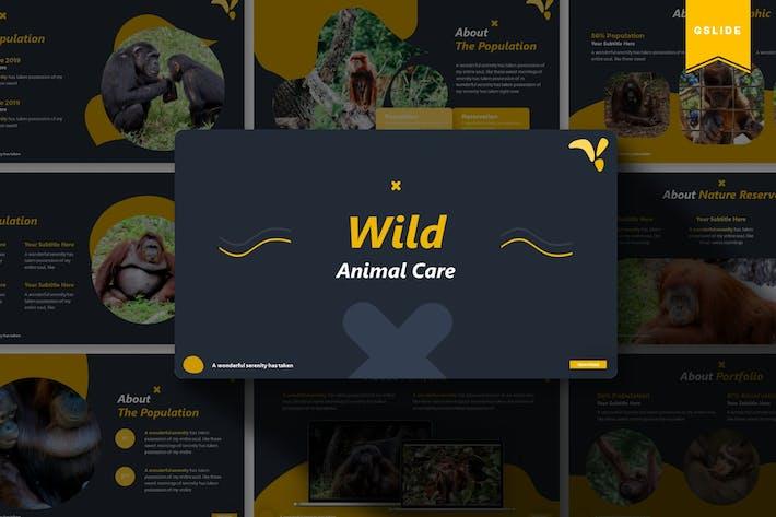 Thumbnail for Wild Animal Care | Google Slides Template