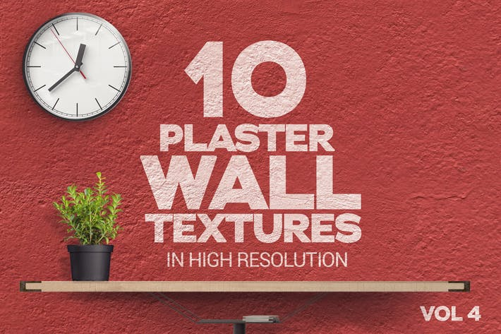 Thumbnail for Plaster Wall Textures x10 Vol.4