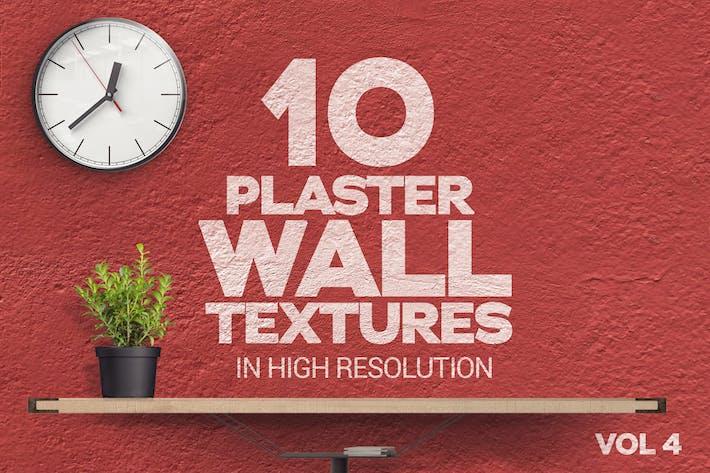 Thumbnail for Gipswand Texturen x10 Vol.4