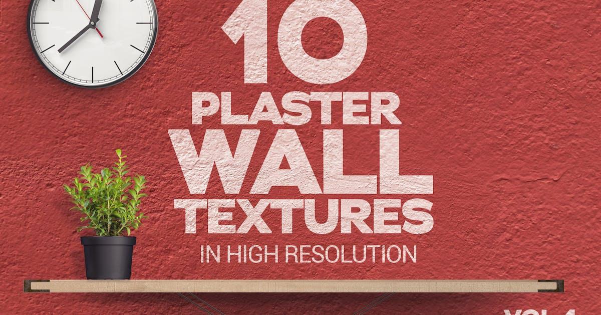 Download Plaster Wall Textures x10 Vol.4 by SmartDesigns_eu