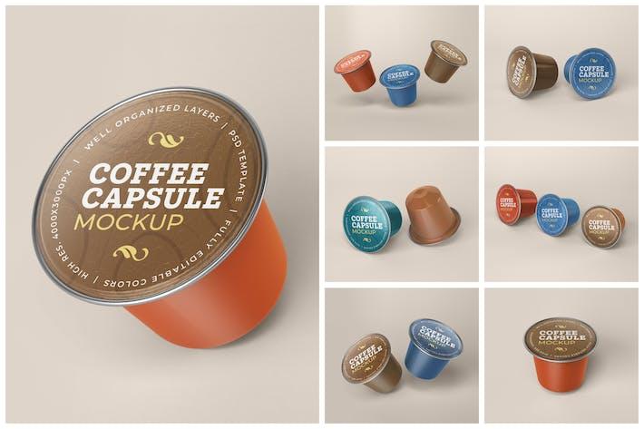 Thumbnail for Coffee Capsule Mockup Set