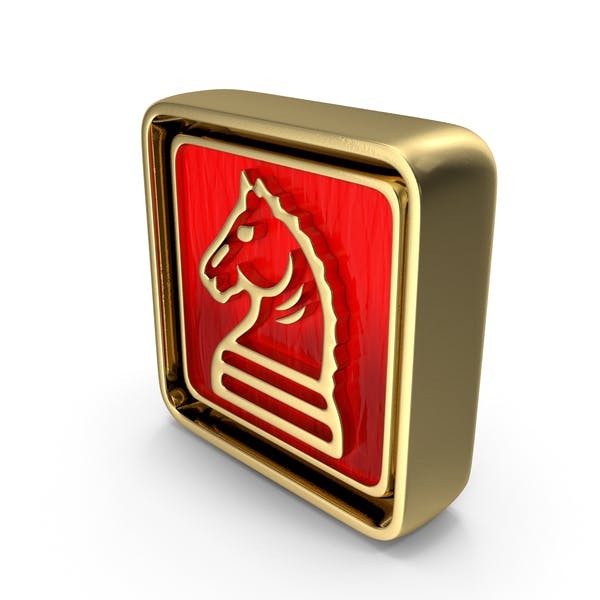 Knight Icon Gold