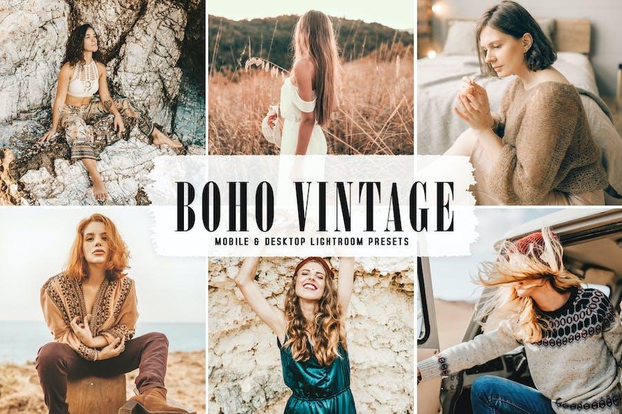Пресеты для мобильных и настольных ПК Boho Vintage