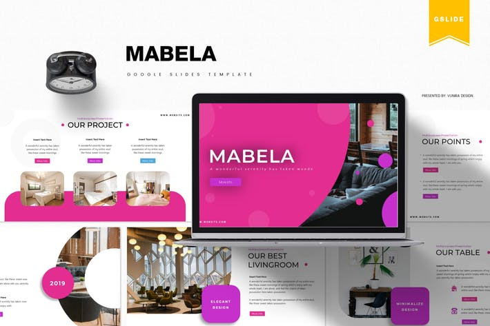 Thumbnail for Mabela | Google Slides Template