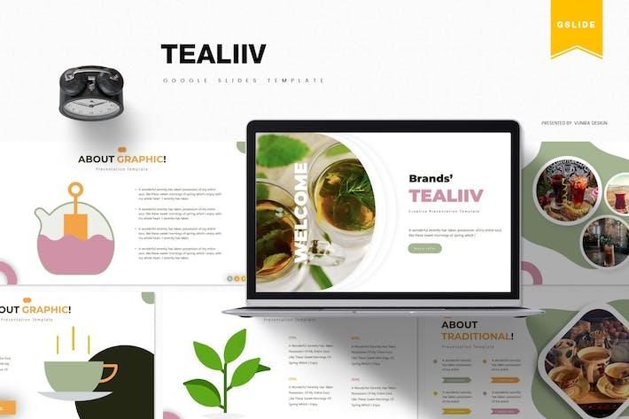Thumbnail for Tealiiv | Шаблон слайдов Google