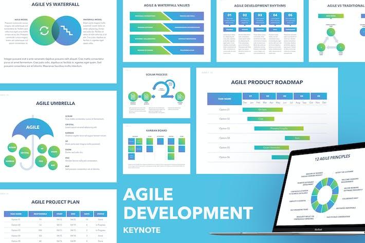Thumbnail for Agile Development Keynote Template