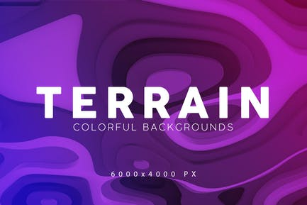 Terrain 3D Backgrounds