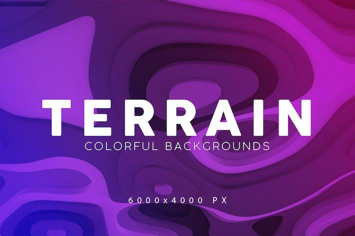 Thumbnail for Terrain 3D Backgrounds