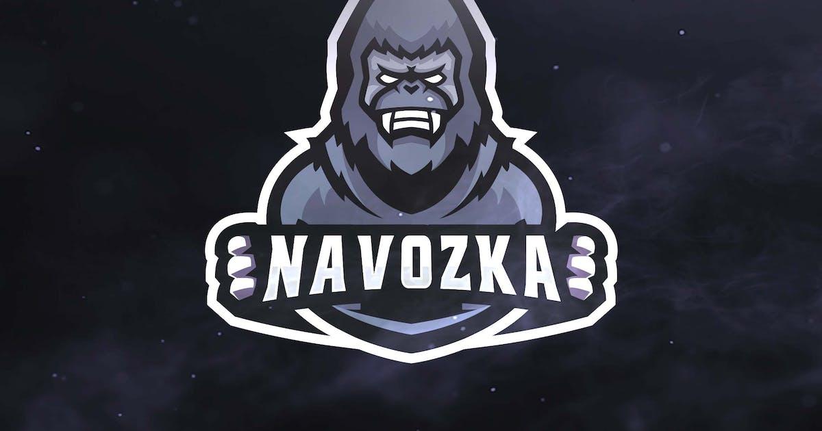 Download Gorilla Sport and Esports Logos by ovozdigital