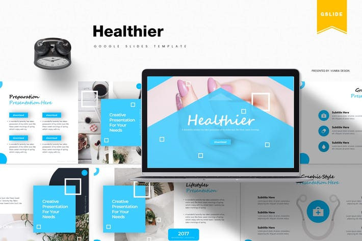Healthier | Google Slides Template