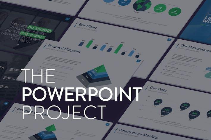 Thumbnail for Проект Powerpoint - Шаблон презентации