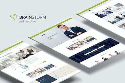 BrainStorm — Multi-purpose Training PSD Thème