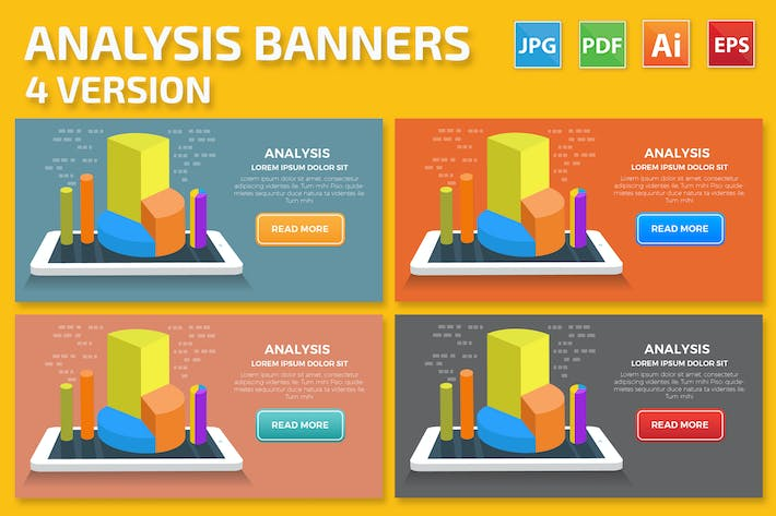 Thumbnail for Analysis Banners Design