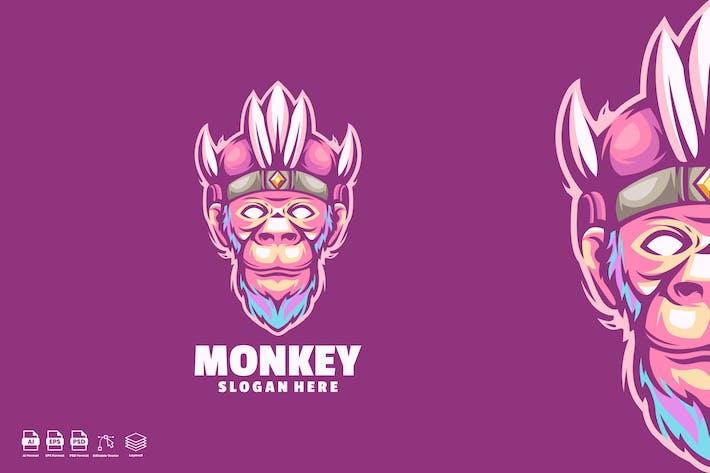 Monkey Indian Logo