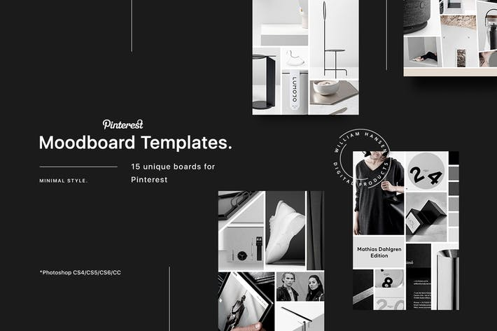 mood board templates by anthonyrich on envato elements