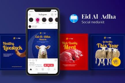 Eid Mubarak Social Media Kit - Keynote