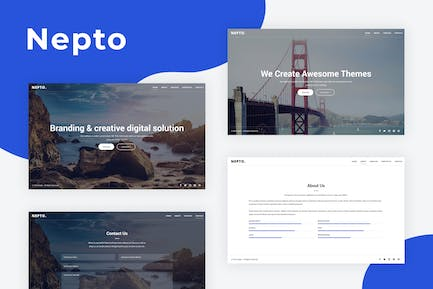 Nepto - Responsive Coming Soon Template