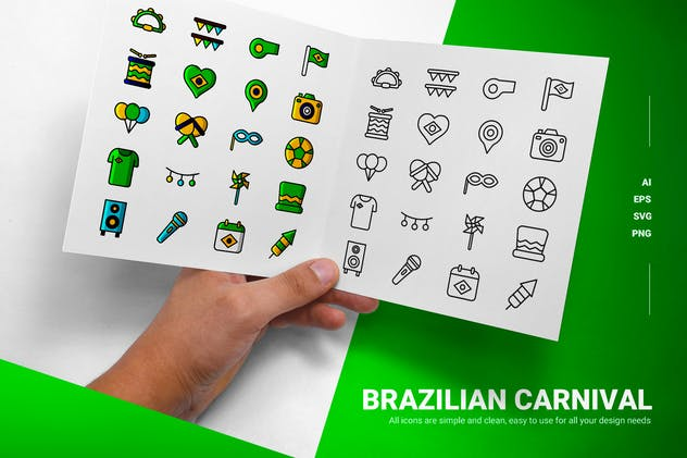 Brazilian Carnival - Icon