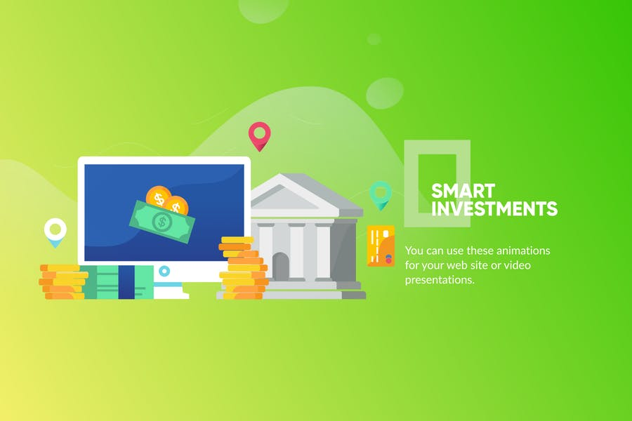 Banking & Landing Page